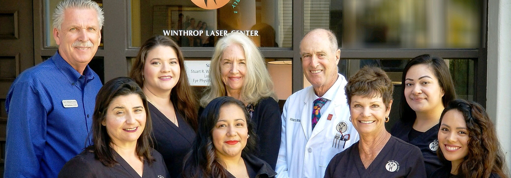 Dr. Winthrop and his caring staff